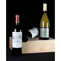 COLIS N°11 - Caisse en bois 3 bouteilles