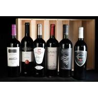 COLIS N°14 - Caisse bois 6 bouteilles