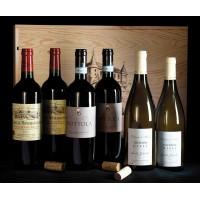 COLIS N°15 - Caisse bois 6 bouteilles